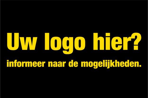 Uw logo hier? Informeer naar de mogelijkheden...